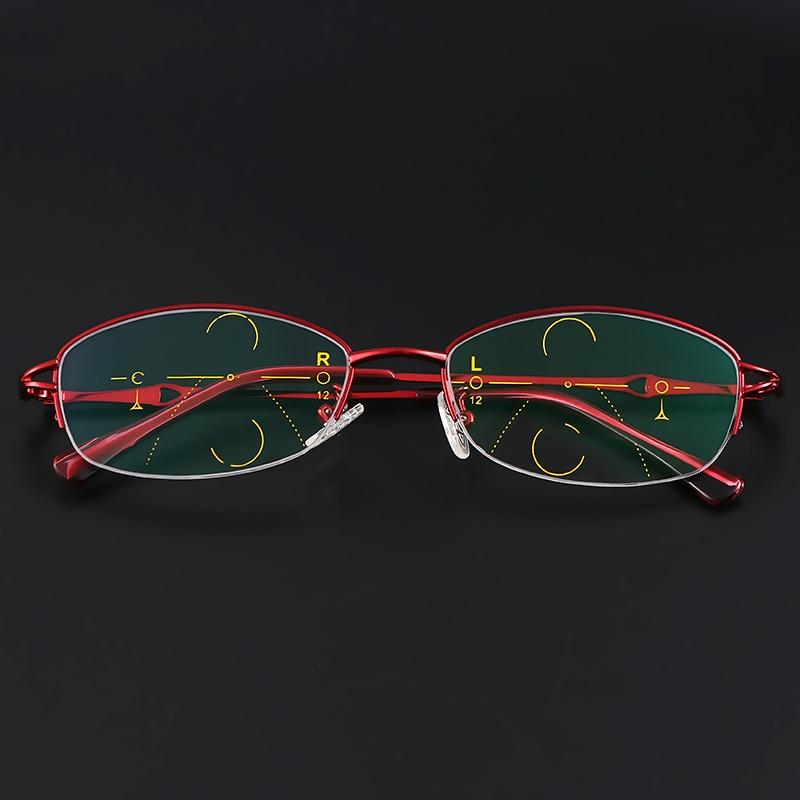 bed3cafdc9 Item Type  Progressive Multifocal Glasses Product Code  4500. Material   Metal Frame Weight  100g. Strength  +1.5