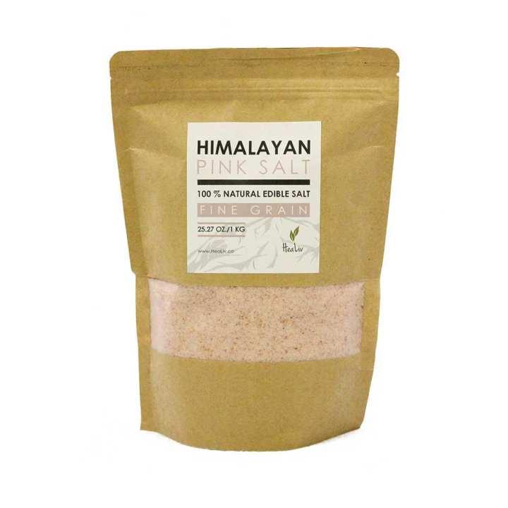 Himalayan Pink Salt - Fine Grain - 1KG