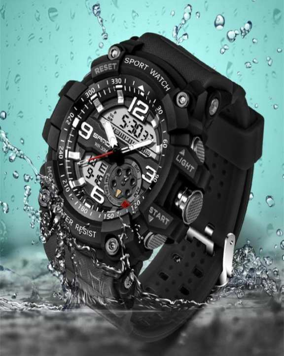 Led Watch G Military Multifunction Shock