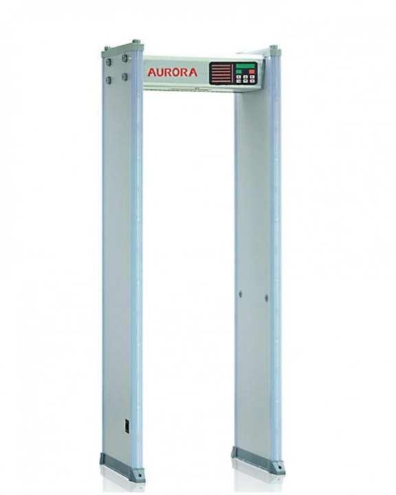 AWD-600A - 6 Zone Multi Walk through Metal Detector - Grey