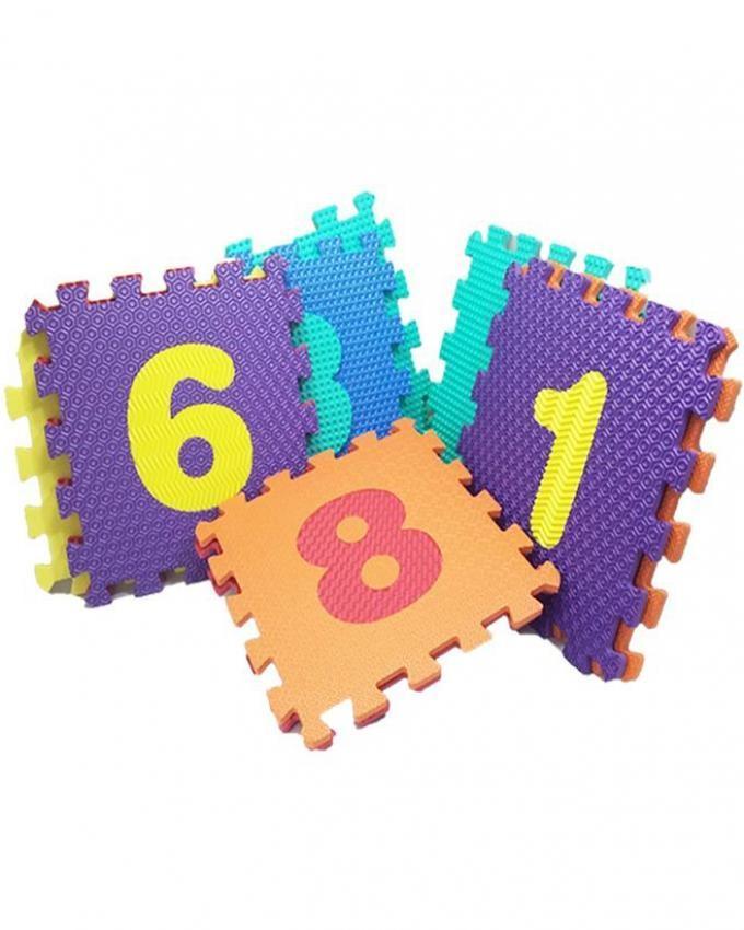 Numbers Puzzle - Foam Floor Mat - Multicolor