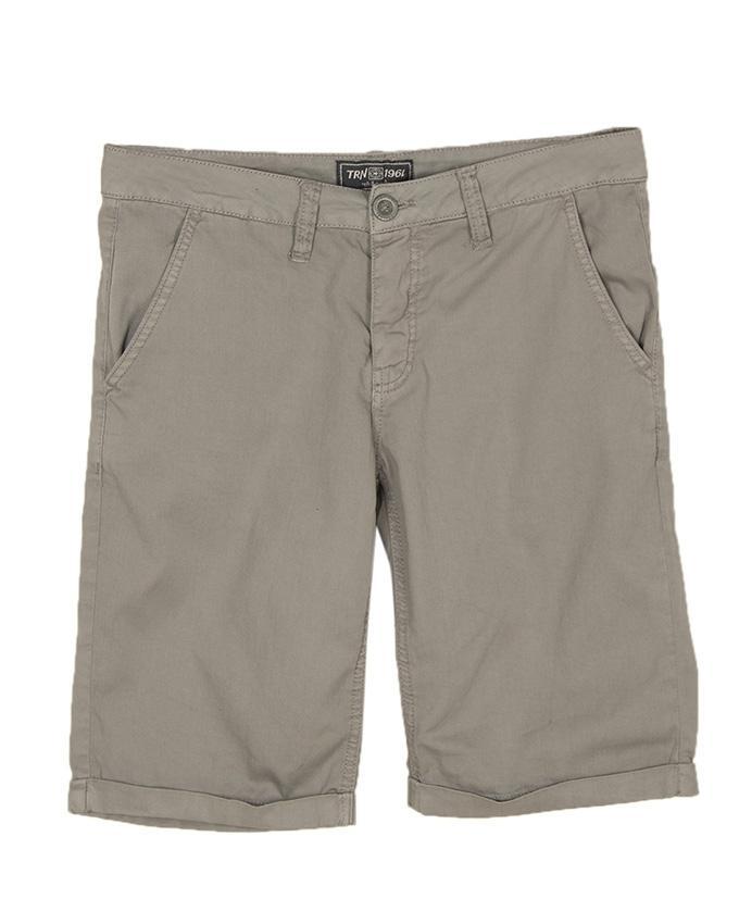 619dbf2bcc0 Mens Grey Chino Cotton Short