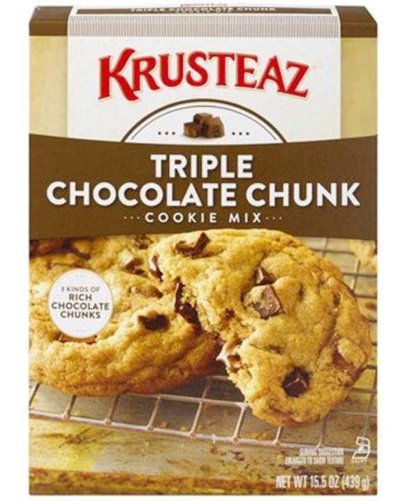 Krusteaz Bakery Style Triple Chocolate Chunk Cookie Mix 439g