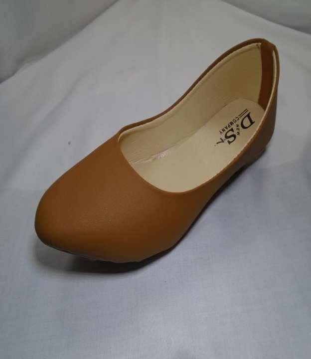 Brown Color Synthetic  Pu Sole Shoes For Women 337-50730