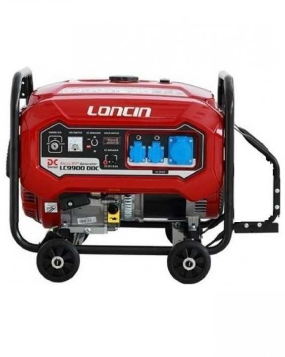 Loncin LC9900DDC - Latest 6.5 KW - Petrol & Gas Generator - with Wheels Kit