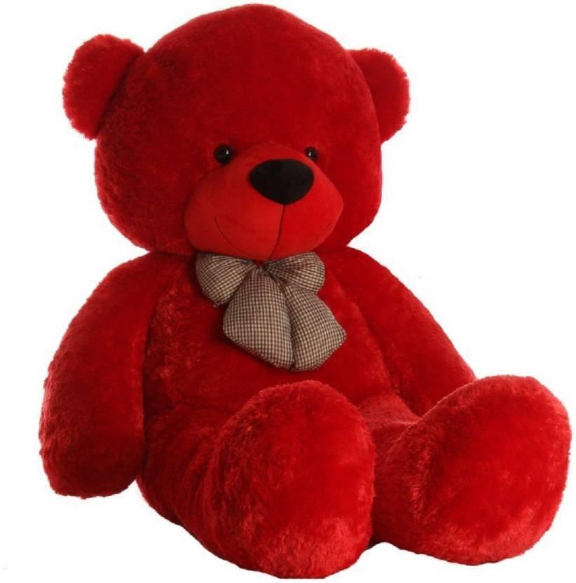 Teddy Bear 3 Feet Gift Teddy Bear Red 92 Cm