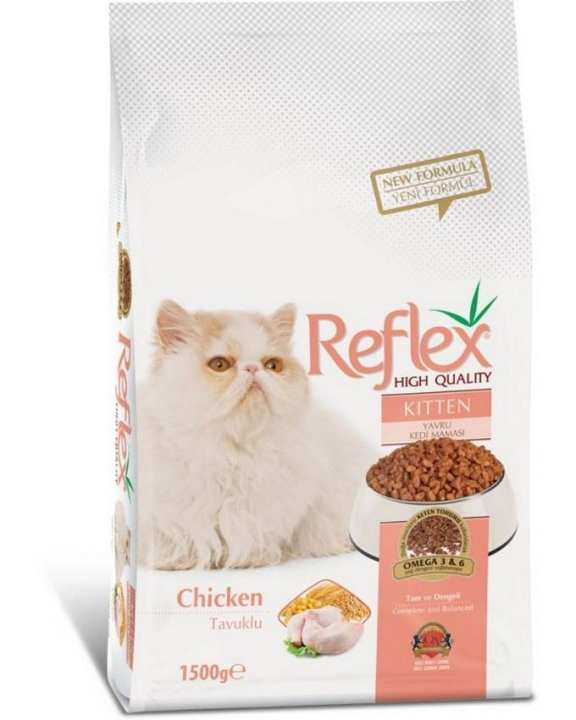 Reflex Kitten Chicken Food - 1.5kg