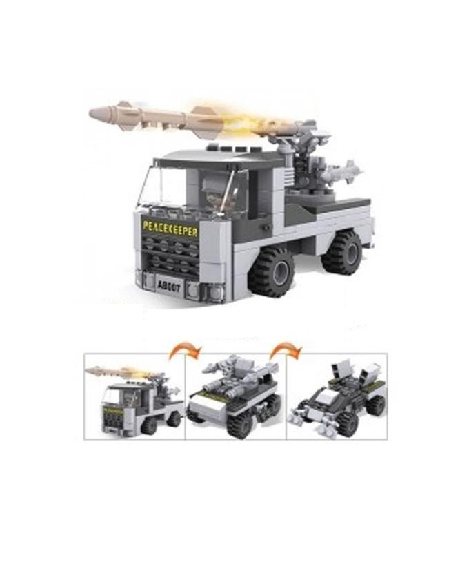 Cogo Army Vehicle Building Blocks - Carrier