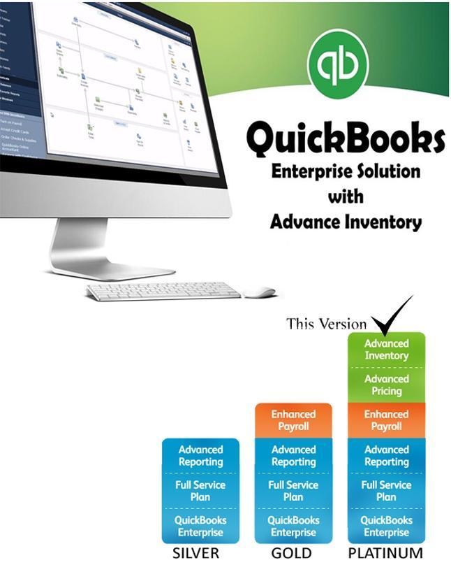 QuickBooks Enterprise 2015 with Advanced Inventory(Platinum)