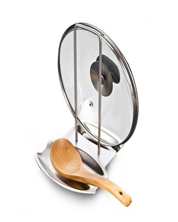 Utensil LID Rack and Spoon Holder