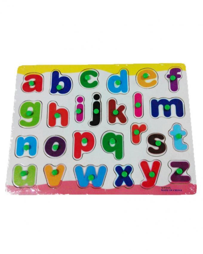 Small Alphabets - Gloss Puzzle - Multi Color