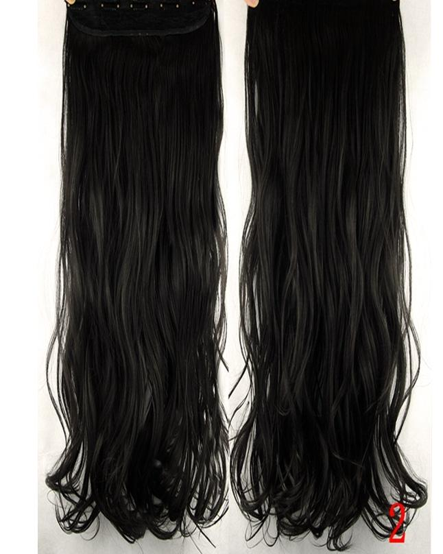 5 Clips Natural Brown Color Hair Extension 30 Inches Buy Sell