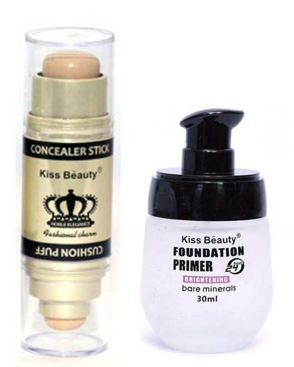 Pack of 2 - Contour Stick Light & Primer Foundation