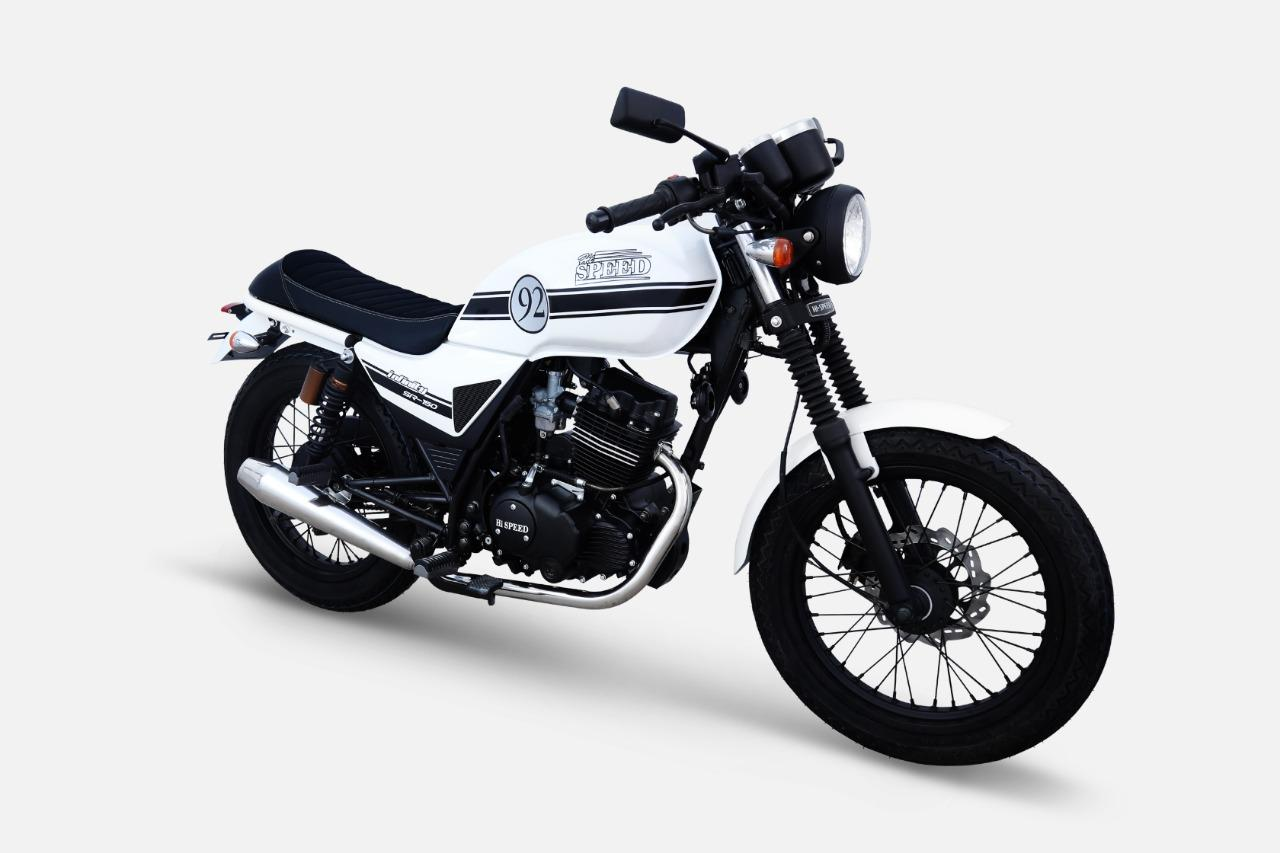 Hi Speed Infinity 150cc - White (Karachi Only)