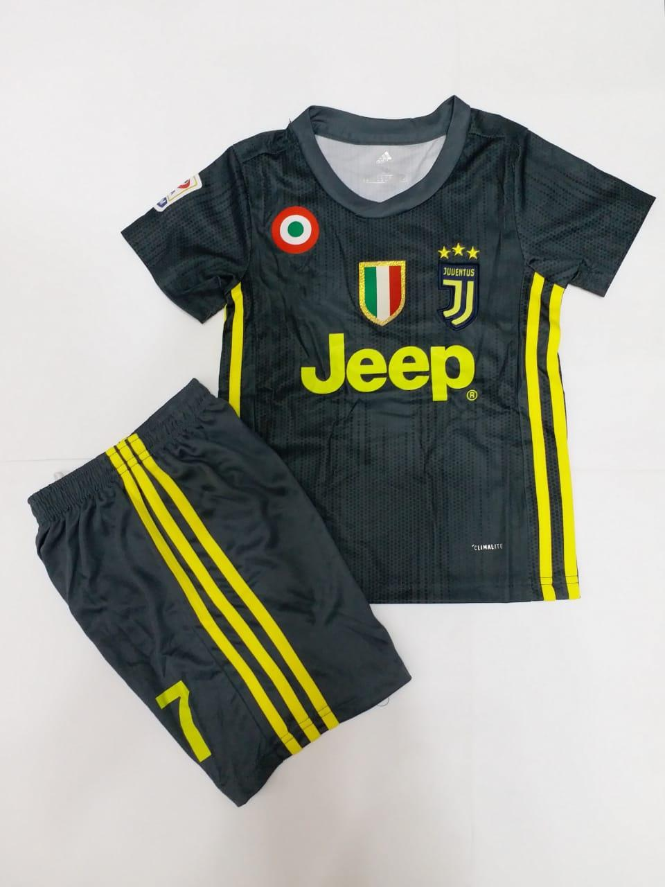 reputable site e243b 3b124 KIDS Juventus C.Ronaldo Away Kit 3Years to 13Years