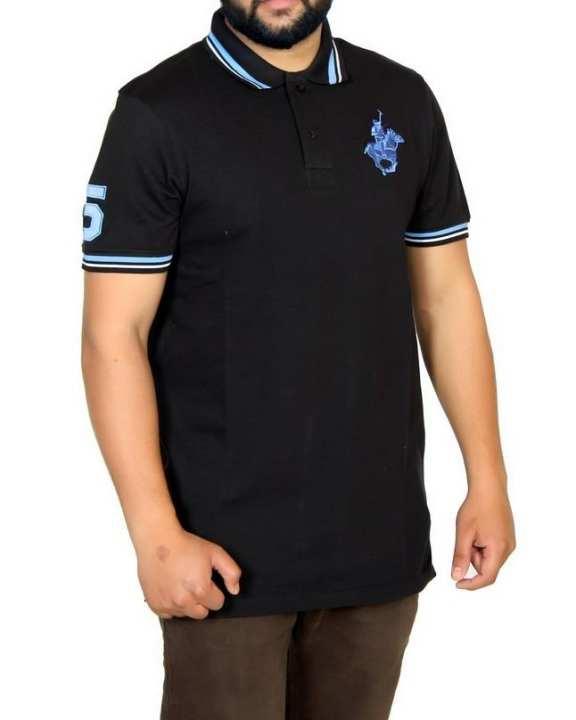 Black Polo Shirt for Men