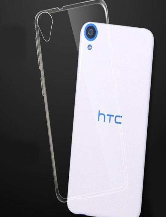 High Quality Htc Desire 728 Transparent Back Cover - Shine Tpu