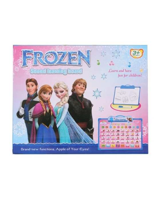 Frozen English Learning E-Board - Multicolor