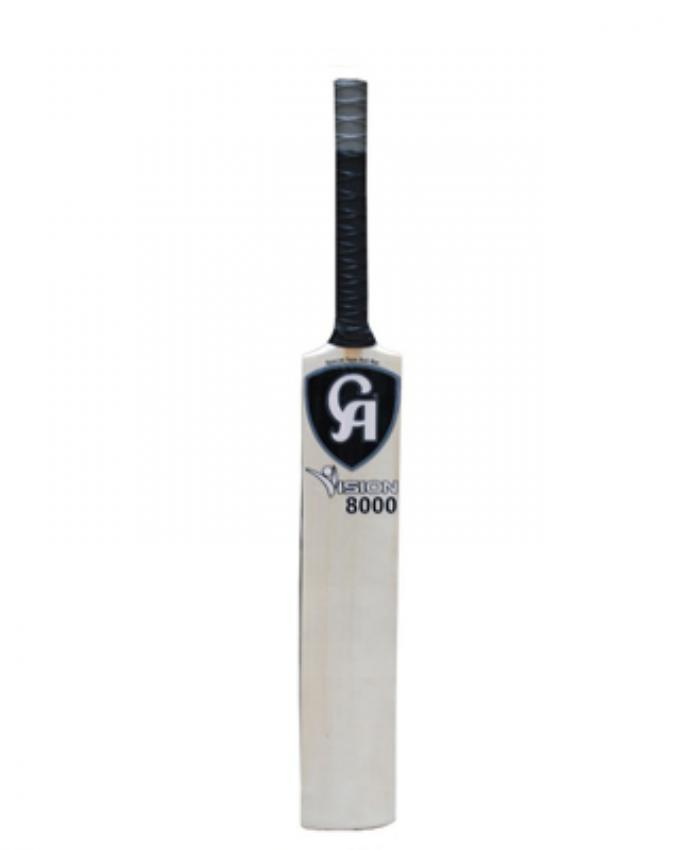 CA Vision 8000 Cricket Tape Ball - White & Black