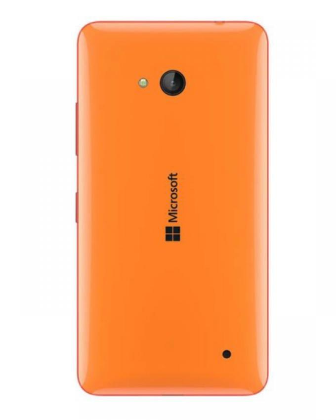 Nokia 640 Body Replacement Back - Orange