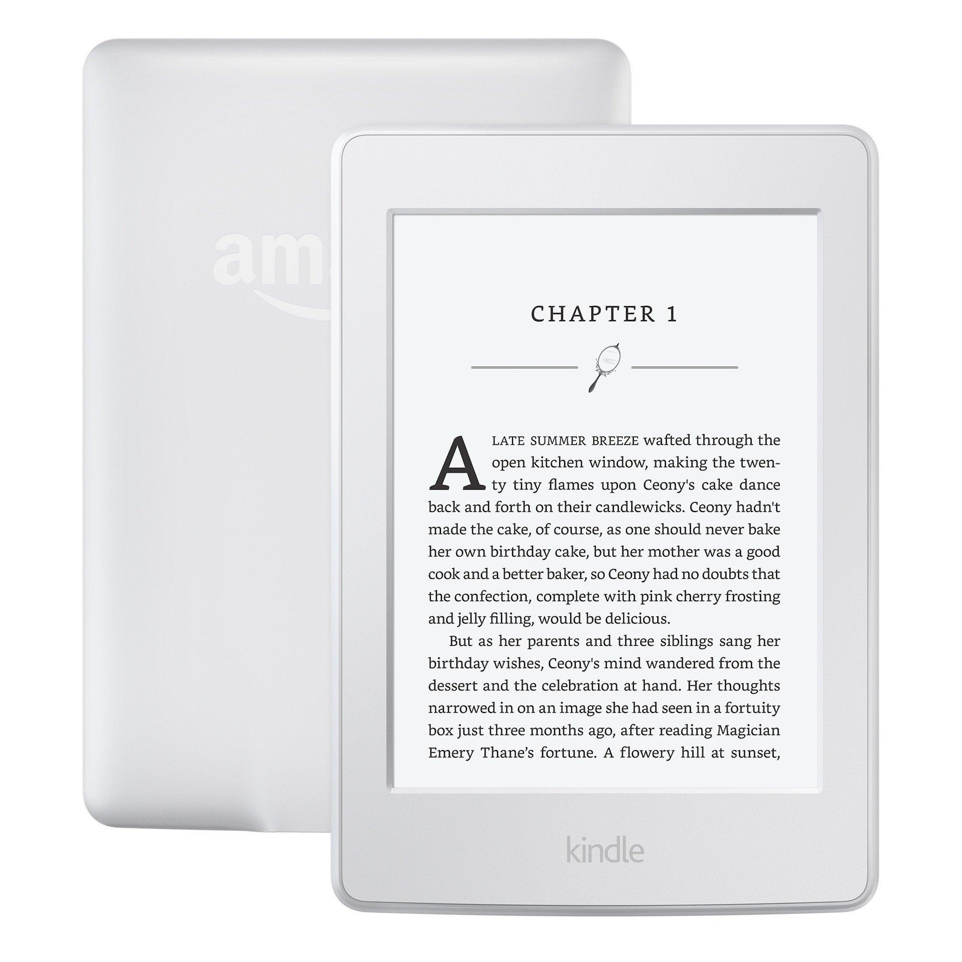 Kindle Paperwhite E Book Reader 7th Gen - White