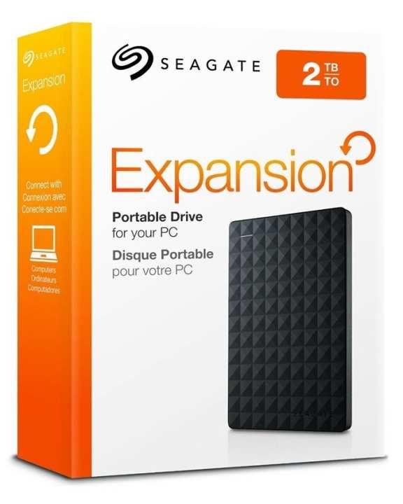 Seagate Expansion - 2TB Portable External Hard Drive - USB 3.0
