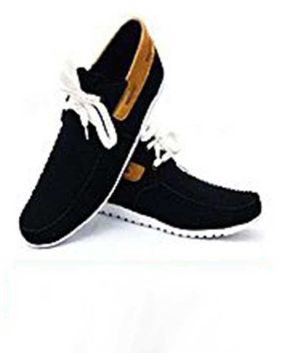 Brown Strap Stylish Black Sneaker for Men