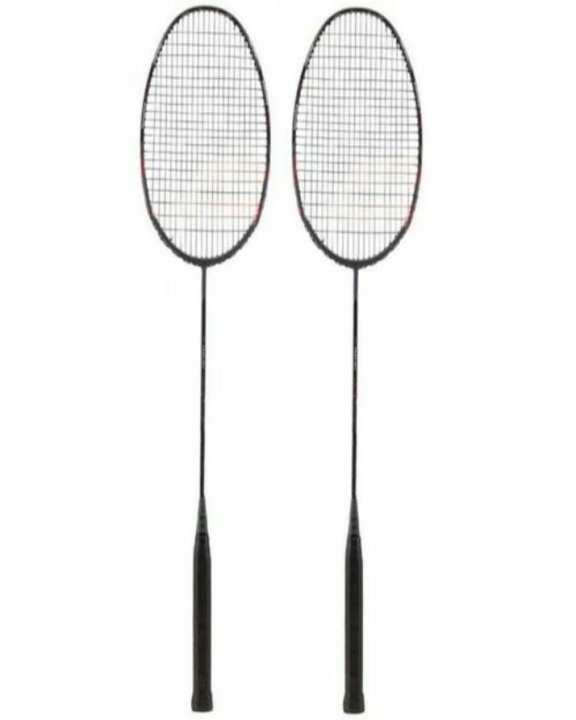 Pair of Badminton Rackets - Multicolor