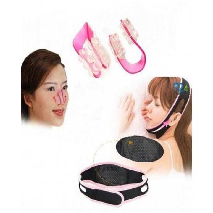 Face Lift Belt + Nose Clip