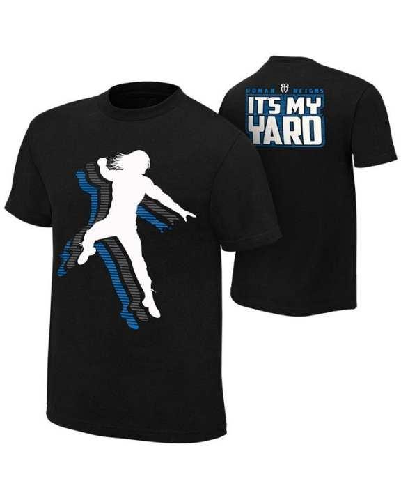 Black - Roman Reigns It'S My Yard T-Shirt