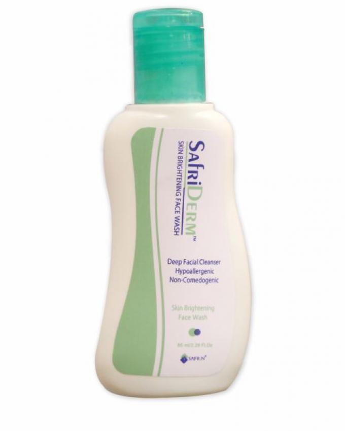 Safrin Safriderm Skin Brightening Face Wash 65ml Buy Online At