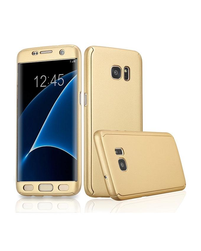 Whole Round 360 Protection Case For Samsung Note 5 - Gold