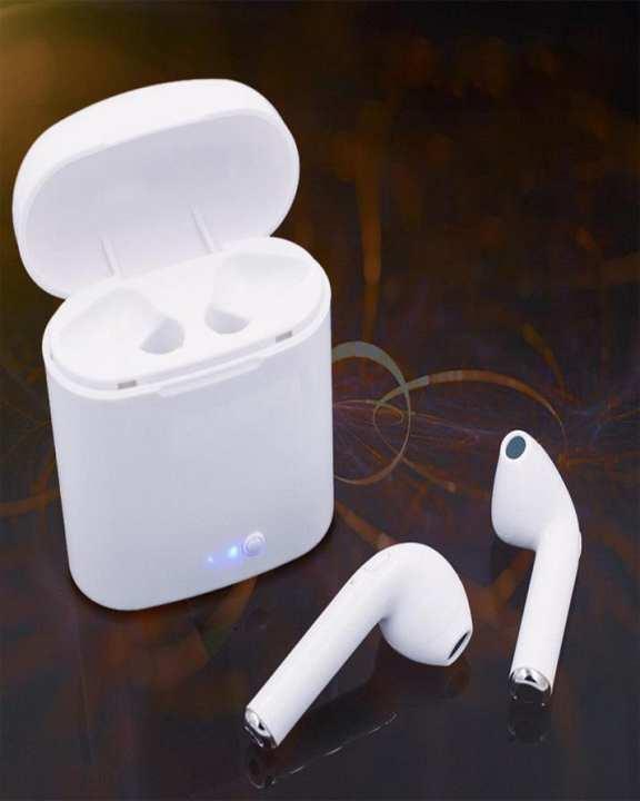 Hbq I7S Twins Earbuds Handsfree Headset Fone Tws Bluetooth Earphone In Ear Buds For Earpods Xiaomi Mobile Phones I7 I7S