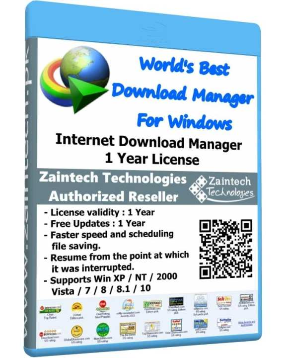 Internet Download Manager - IDM - 1 Year License