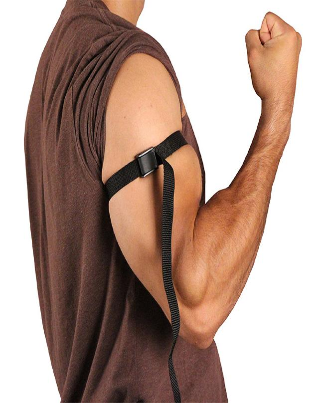 WEIGHTLIFTING TRAINING BAND STRAP