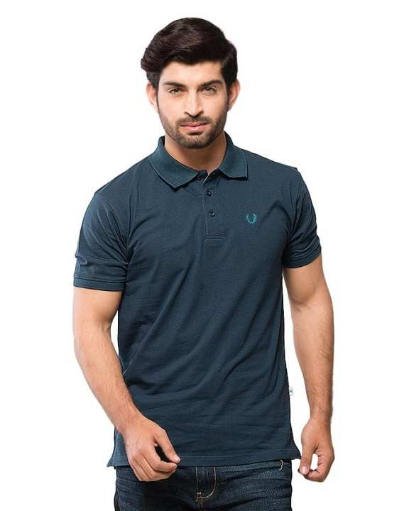 Indian Ink Half Sleeves Polo For Men
