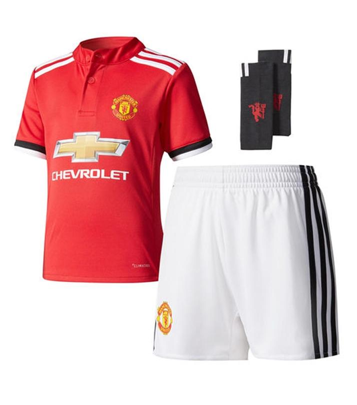 online retailer 28649 d5853 Manchester United 2017/18 Home Kit with Socks