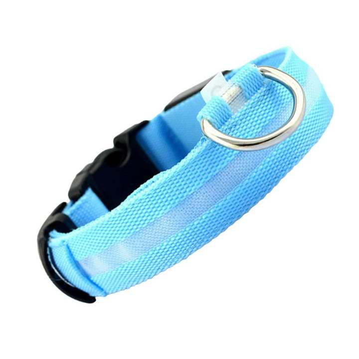 LED Necklace LED Collar Safe Nylon Night Flashing Dog Accessories Luminous Pet Supplies