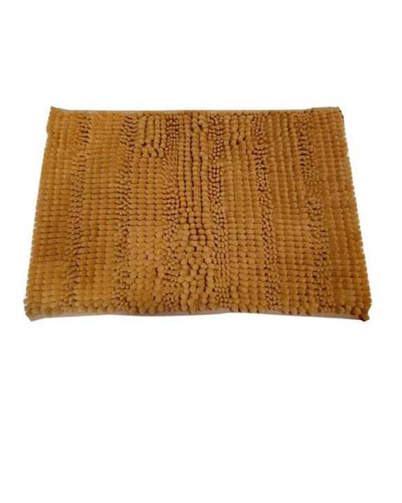 Golden Soft Shaggy Non Slip Bath Mat