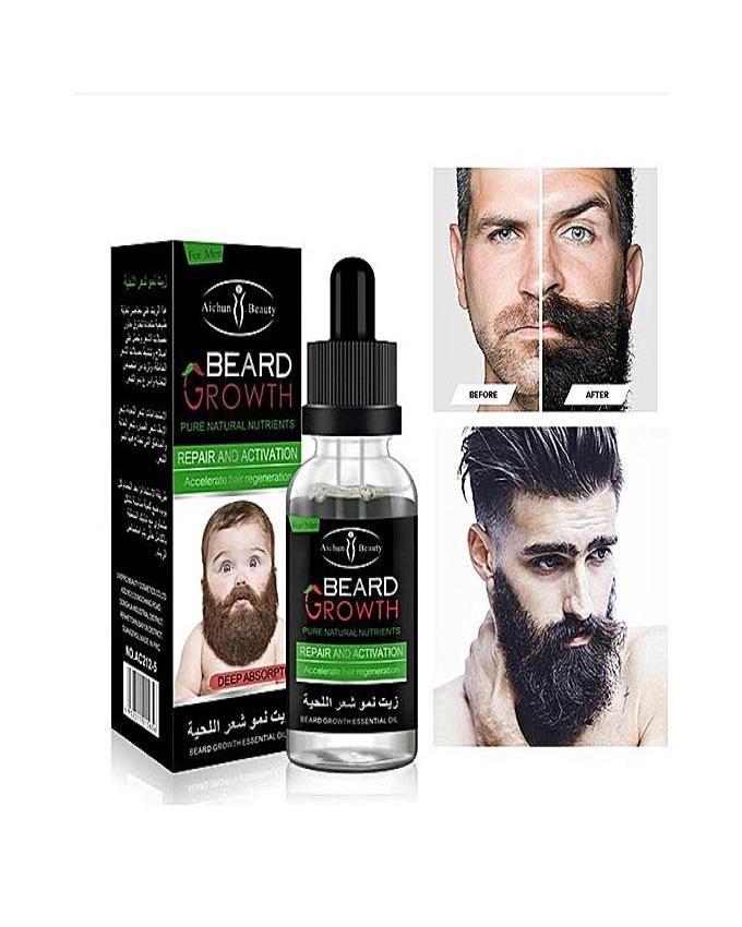 Ke Beard Growth Essential Oil Enhance Facial Whiskers Nutrition