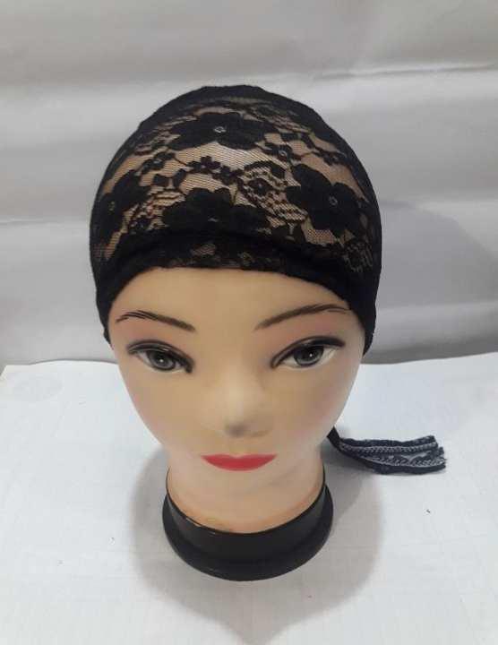 Black Net Cap For Hijab