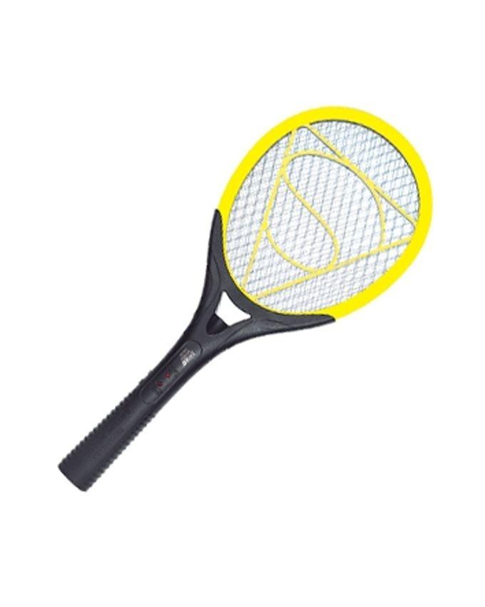 LED-802 - Mosquito Killer Rechargeable Racket - Yellow