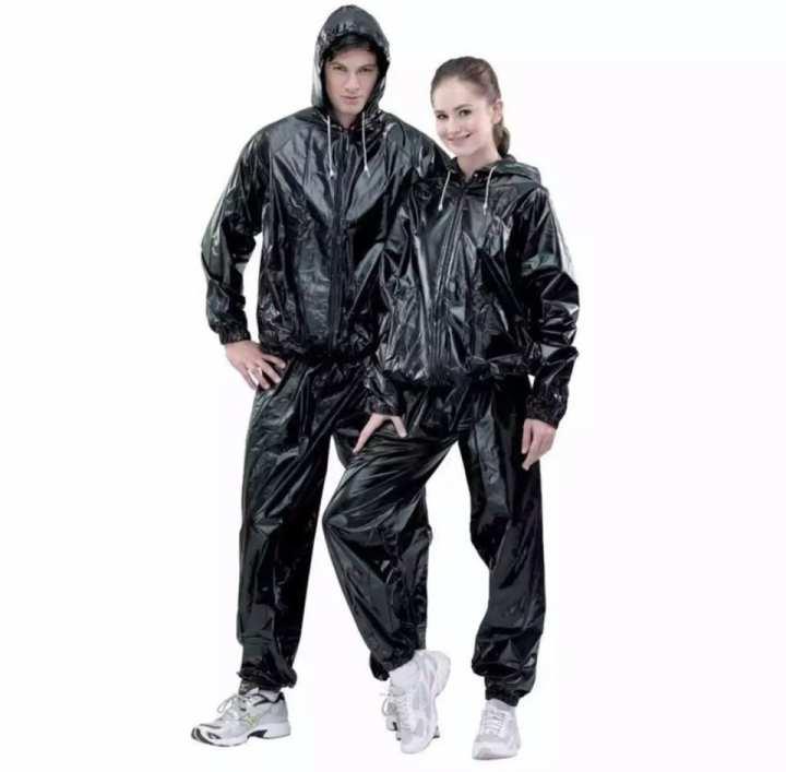 Unisex Sauna Suit Sports Suit Fat Reduce Body Fitness Suit