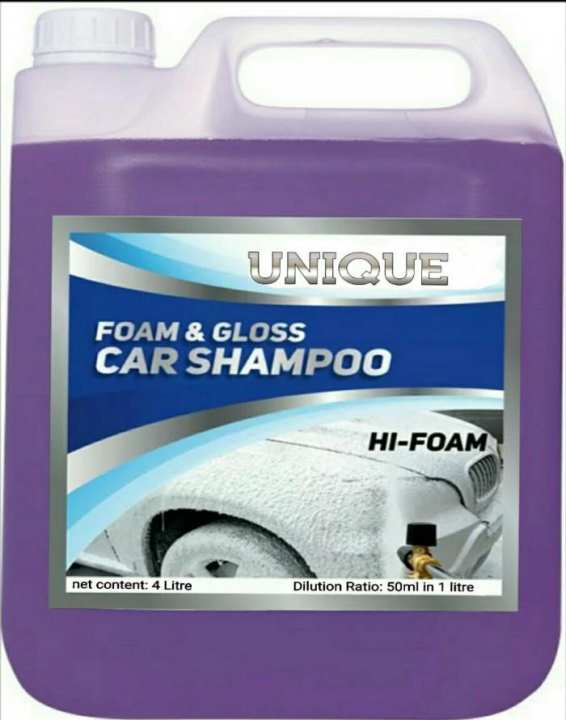4 Liter Car Foamy Shampoo