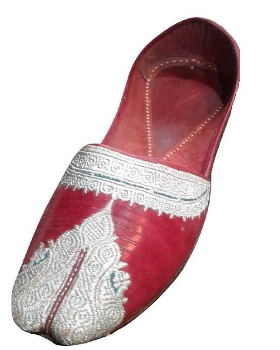 Pure Leather Khussa With Tilla Work For Men