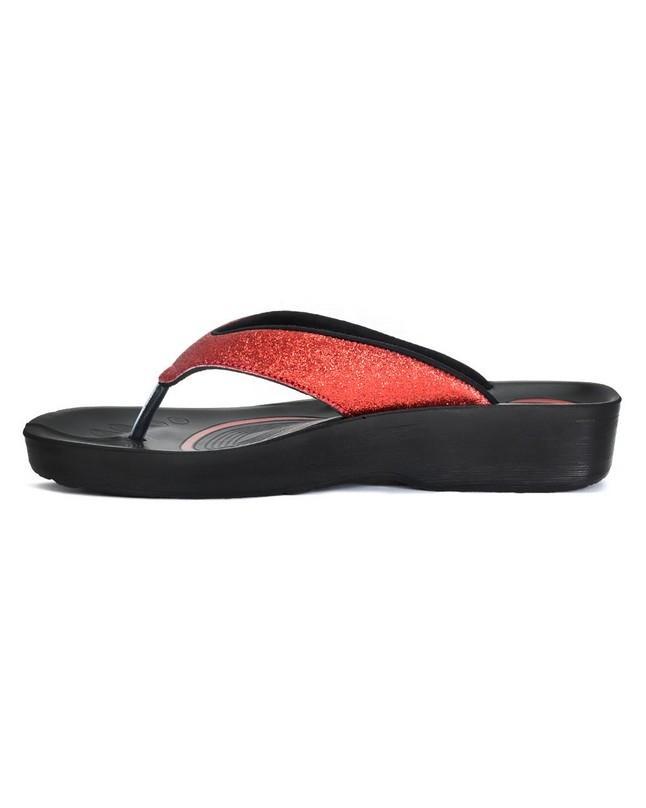 de439535c2ce L0312 Crystal Mist Red Flip Flop Sandals  Buy Online at Best Prices in  Pakistan