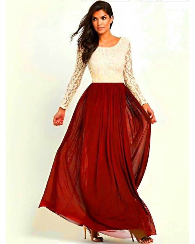 Pakistani Maxi Dresses for Casual Summer