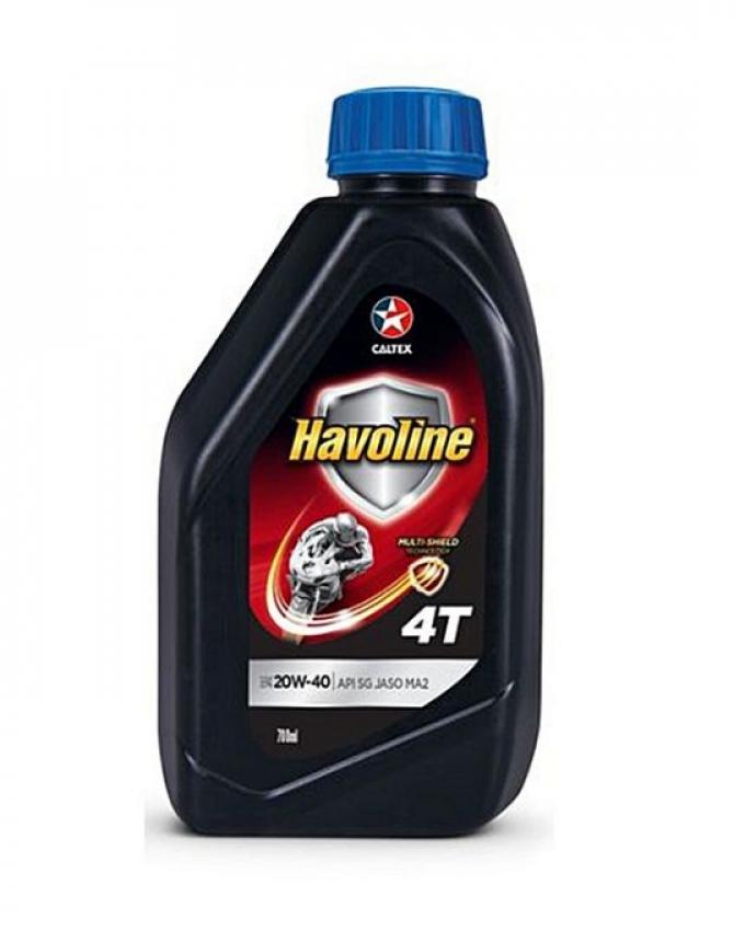 Havoline 4T - Motorcycle Oil 20W-40 - 700Ml