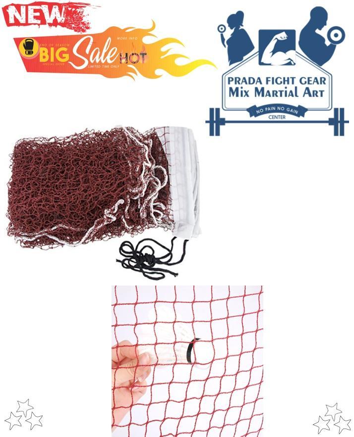 Badminton Net Training Standard Braided