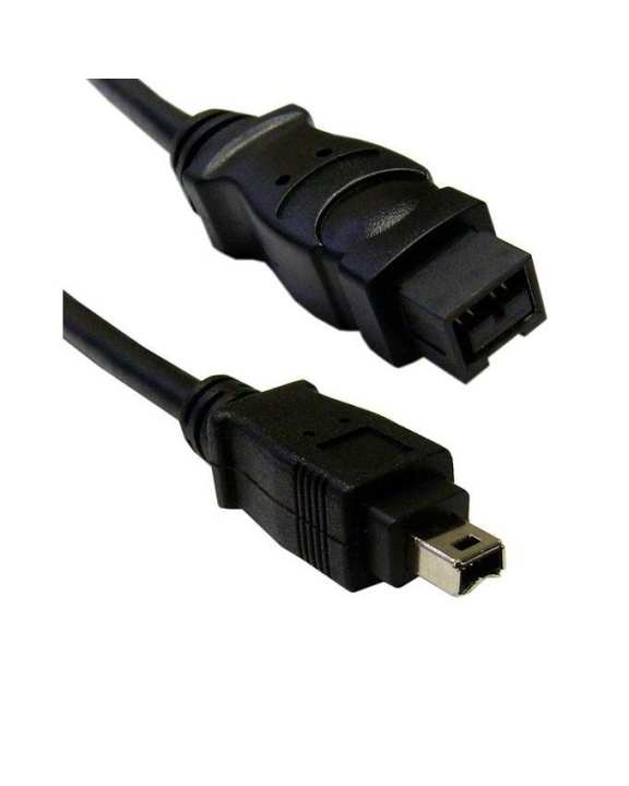 Fire Wire Cable 9 Pin To 9 Pin-Black